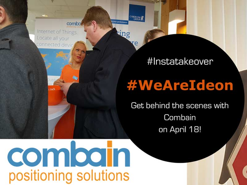Behind the scenes with Combain – #WeAreIdeon