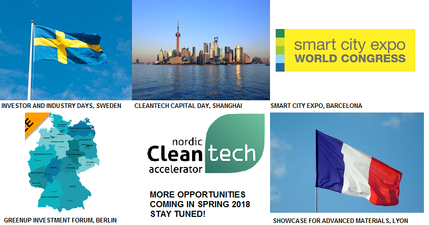 Innovative Cleantech Companies Eager to Grow – Check Nordic Cleantech Accelerator