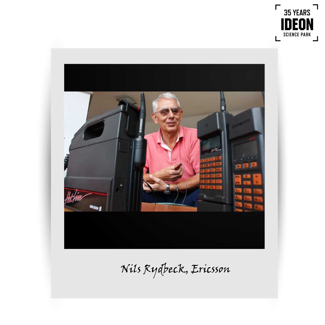 Nils Rydbeck – a visionary leader at Ericsson envisioned phones that would fit into a matchbox