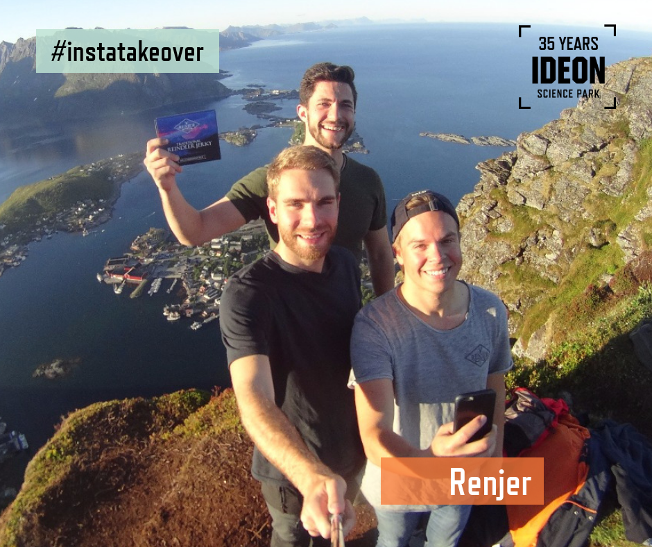 Follow Renjer behind the scenes – Instagram takeover