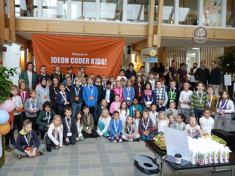 Ideon Coder Kids är tillbaka – med målet att inspirera fler barn att upptäcka programmering