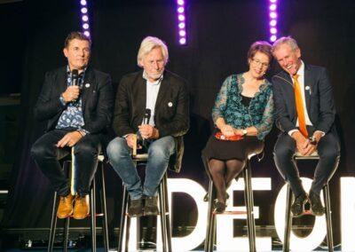 Rickard Mosell, Sven-Thore Holm, Gertrud Bohlin and Hans Möller, 2018