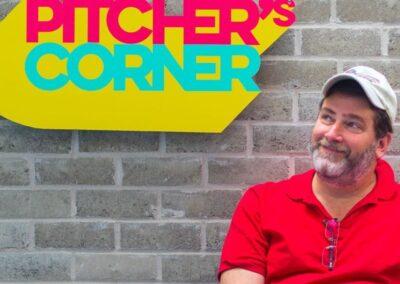 Pitchers's Corner, Neal Greenspan, 2017