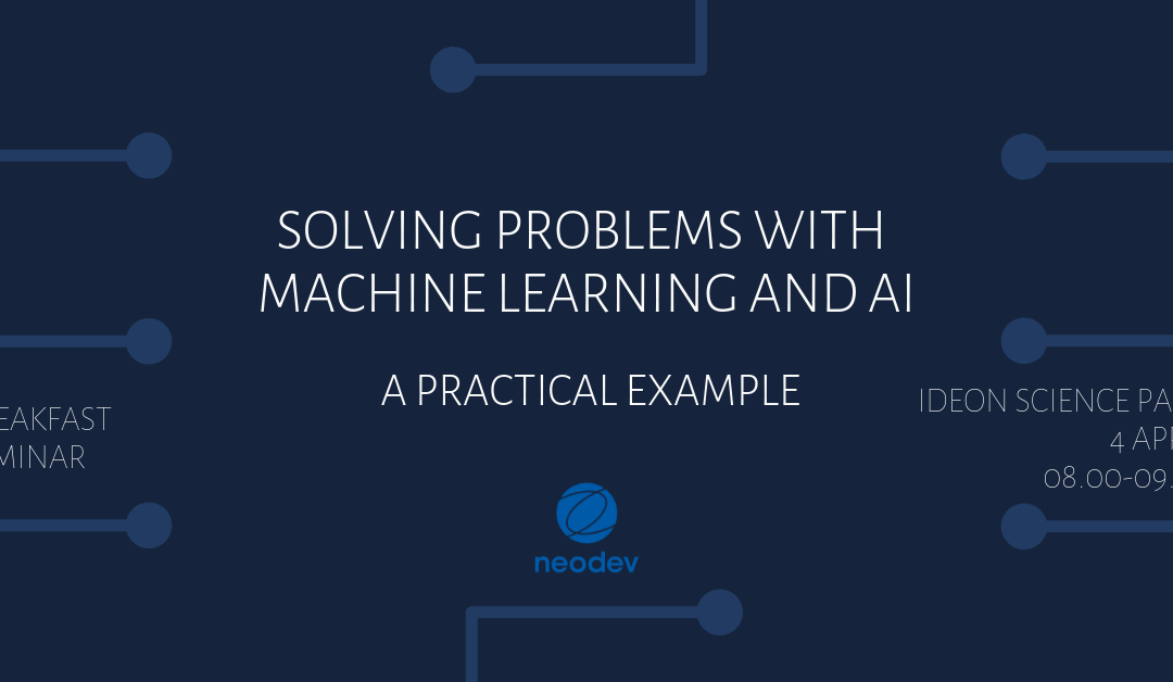 Solving problems with Machine Learning and AI: A practical example