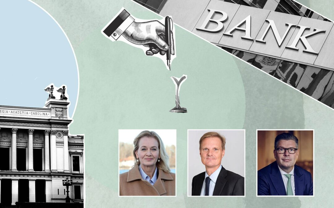 From Lund to Leaders – Meet the CEOs of Handelsbanken, SEB and Swedbank