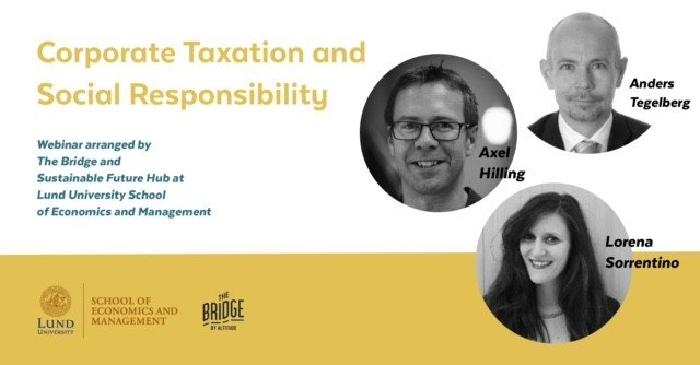 Webinar on Corporate Taxation and Social Responsibility