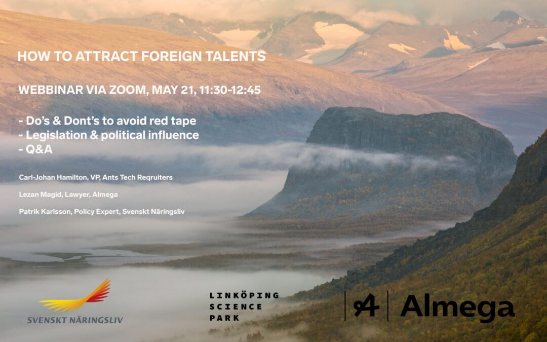 How to attract foreign talents
