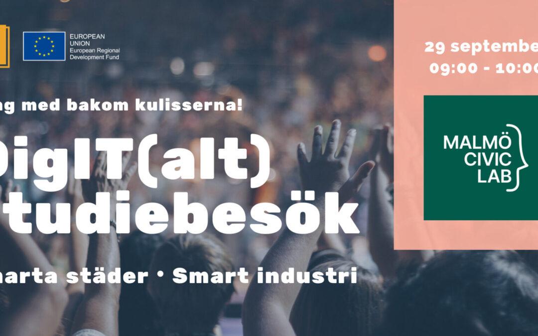DigIT(alt) studiebesök: Malmö Civic Lab