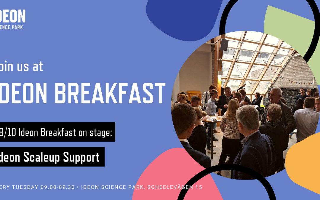 Ideon Breakfast with Ideon Scaleup Support